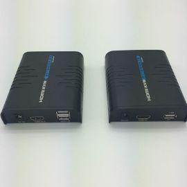 HDMI KVM延长器usb接口带鼠标键盘kvm网线延长器品牌厂商