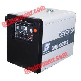 10KVA推拉款静音式柴油发电机组