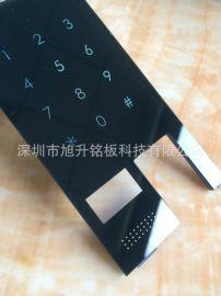 智能锁亚克力面板、指纹锁亚克力触摸板亚克力板