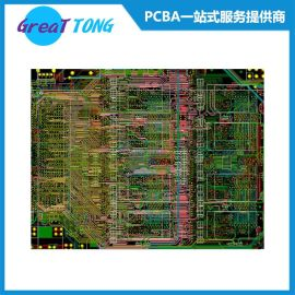 PCB电子线路板高速布线设计打样公司-宏力捷