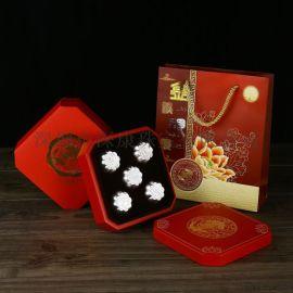 上海保险礼品千足银月饼畅销个性logo设计直销