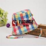 品牌嬰兒帽子彩色格子春夏男女小童高檔盆帽 寶寶夏季遮陽漁夫帽
