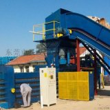 东莞200吨全自动废纸打包机 卧式