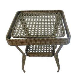 双人藤椅水草藤艺沙发 品质餐厅咖啡厅卡座 藤编家具厂家