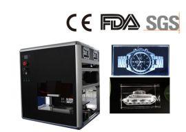 供应水晶激光内雕机 可定制3D人像礼品 3D激光内雕打标一体机