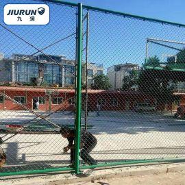 球场护栏网 体育场隔离网 安全防护围网 3*4米运动场围栏可定制