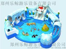 乐鲸水上跷跷板 儿童水上乐园漂浮物 儿童跷跷板