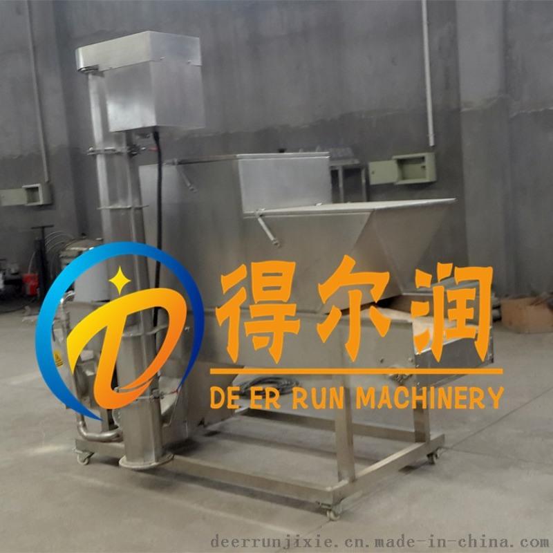 DR12型自动肉饼裹粉机设计原理 上浆裹粉生产线