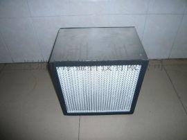 铝框高效过滤器,铝框有隔板过滤器