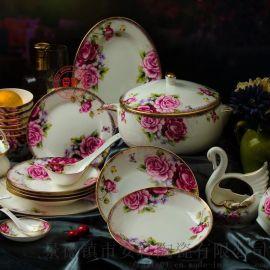 景德镇陶瓷餐具,骨瓷餐具套装礼品厂家