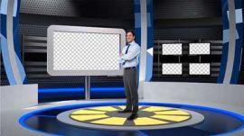 高清4K虛擬演播室,虛擬演播室技術特點播出效果