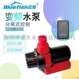 蓝鱼24V高扬程直流变频潜水泵