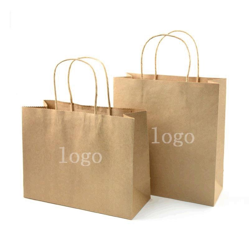 牛皮纸袋定制圣诞礼品手提袋鞋子购物袋 厂家直销