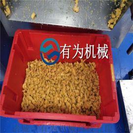 鸡米花滚筒裹粉机 鸡米花上粉机器 鸡米花油炸机