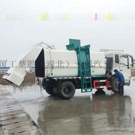 東風天錦12方餐廚泔水運輸處理垃圾車