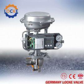 进口卫生级气动调节阀德国洛克