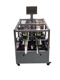 环保热熔胶全自动高效封盒机 半自动封盒机