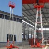 铝合金10米双柱电动升降机,家用货梯升降台