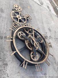厂家直销工艺钟艺术钟摆挂件饰品钟表工艺品