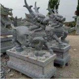 招财麒麟、麒麟雕刻、神画石雕
