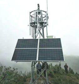 角钢热镀锌12米森林监控塔(铁塔)