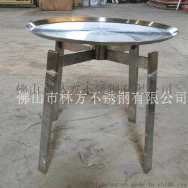 上海 现代简约不锈钢茶几 酒店茶几支架加工定做