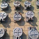 圓形鑄鐵拍門dn1.5米,優質法蘭鑄鐵拍門