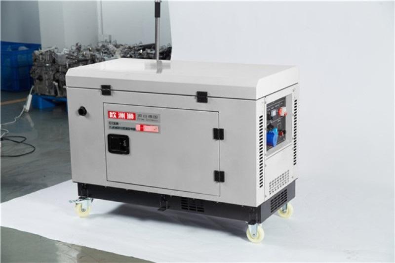 高原用靜音12千瓦無刷柴油發電機組