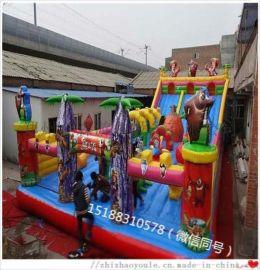 郑州全森儿童充气蹦蹦床 大型可移动气堡