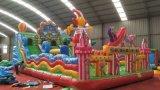 河北邯鄲遊樂廟會經營大型充氣城堡賺錢容易