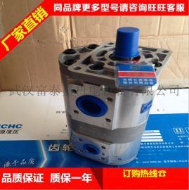 力叉车长源CBTF430AFHL齿轮泵@  原厂装法兰联接液压泵配件齿轮泵