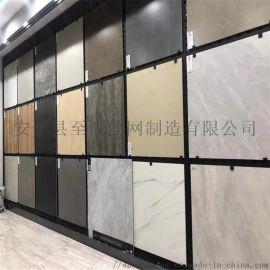 展厅展示架 地砖墙砖货架 网孔板展示架厂家