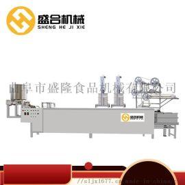 新型豆腐皮千张机器  江苏南通腐皮机械设备