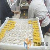 连续式带鱼段浸浆机 全自动带鱼上浆上屑厂家直销