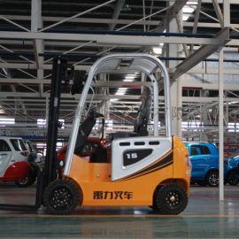 工厂物料搬运车 电动座驾式四轮叉车 仓库液压装卸车