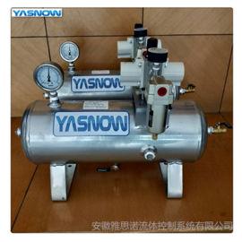 压缩空气增压泵 SMC空气增压系统 气动增压阀