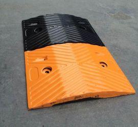 深圳减速带厂家,梯形橡胶减速带批发