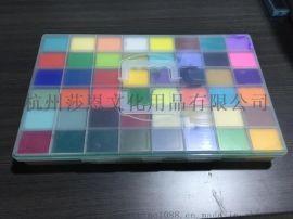 48格调色盒 配套85毫升果冻杯水粉颜料