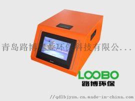 LB-QC5QT全触屏控尾气分析仪在山东济南的使用