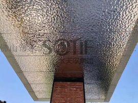 酒店 会所 浴室用不锈钢水波纹板 不锈钢防滑板