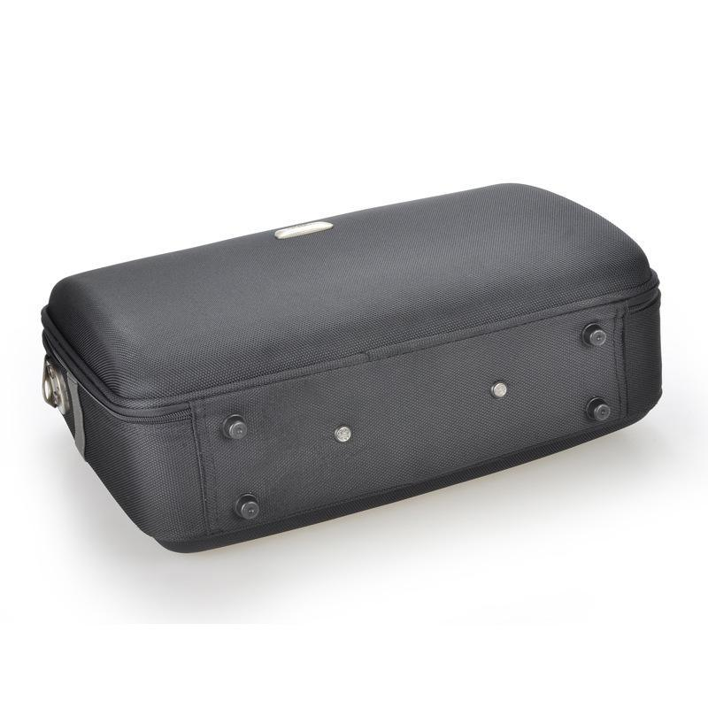 oem2018夏季新款商务中性旅行箱纯色牛津布箱包公文箱