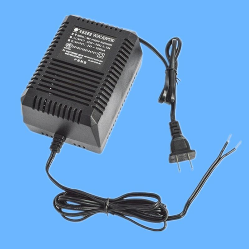 24V 2.5A桌面式交流适配器 3C认证安防电源