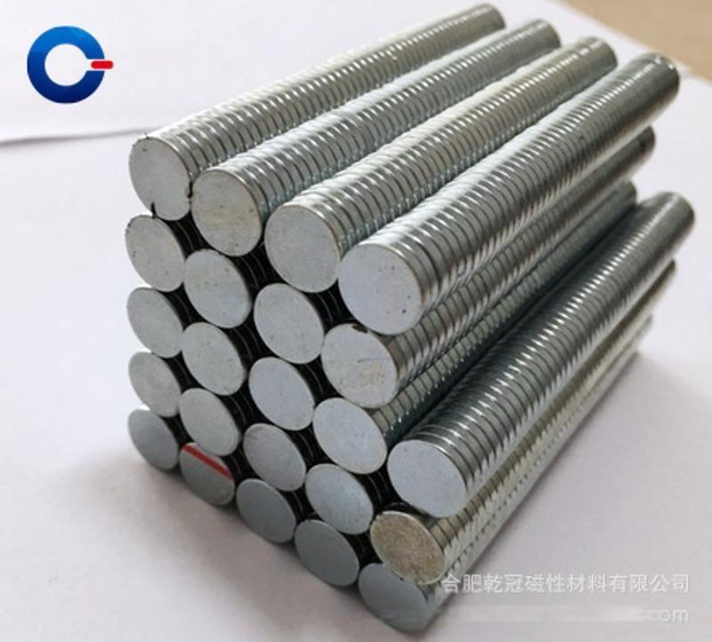 钕铁硼强力磁铁 D9*1.5MM强力吸铁石