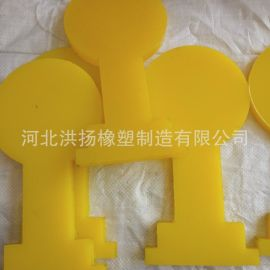 聚氨酯减震耐磨垫块 高强度牛筋垫块 牛筋垫板