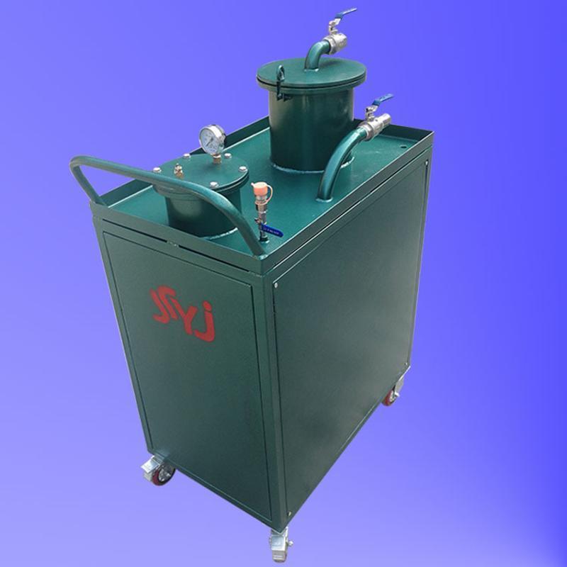 机床废渣清理设备  冲压液槽废渣油处理