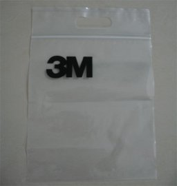 PE透明塑料電子產品手挽袋 (012)