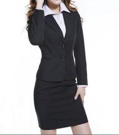 上海红万服饰 订做 生产 女士西服 职业西服