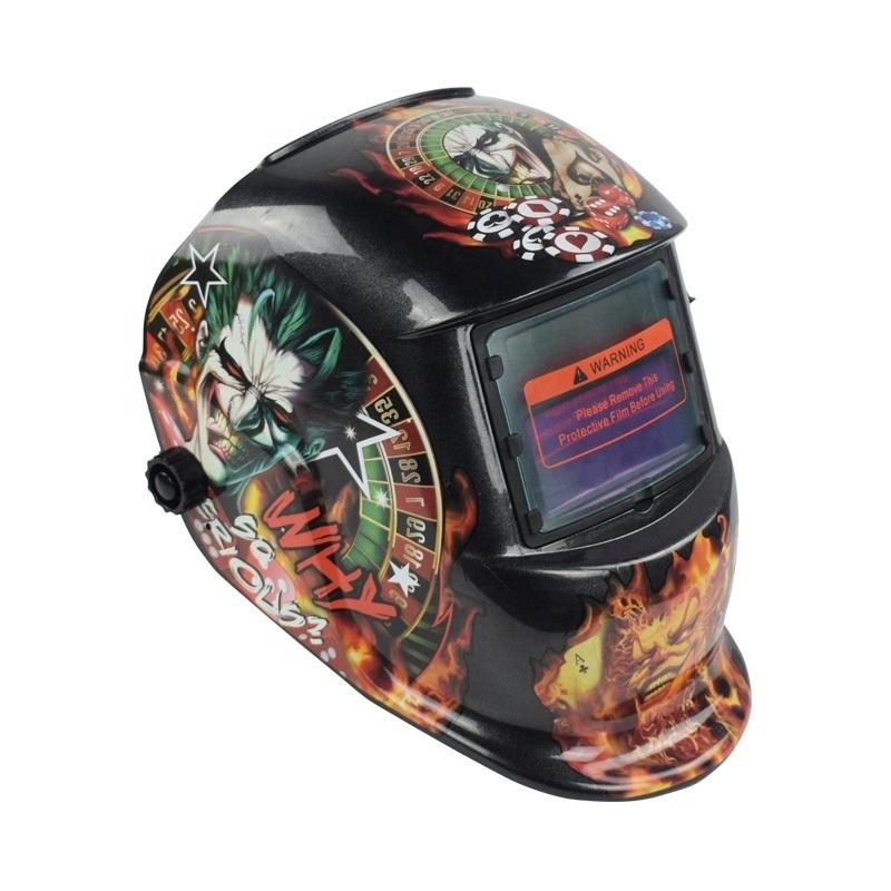 焊割防护帽子电焊面罩全脸防护