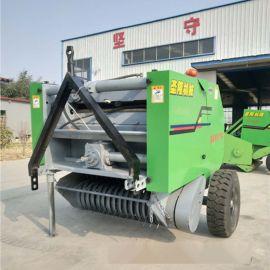 秸秆打捆收割机 小麦秸秆打捆机 自动稻草打捆机原理