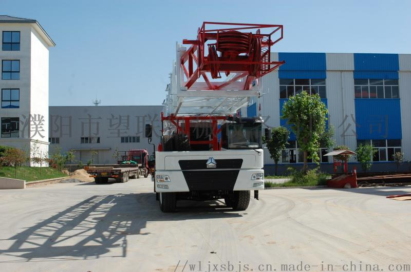 中国重汽135吨油田修井机专用车